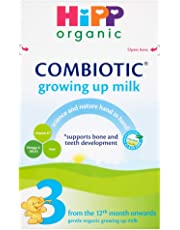 """HiPP Organic 4 """"From 12 Months Onwards"""" Growing up Milk 600 g (Pack of 4)"""