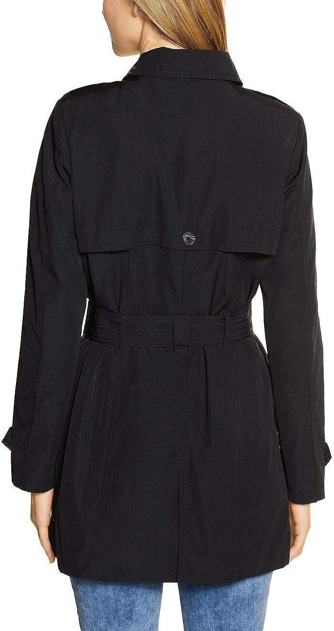 Street One Trenchcoat Femme Noir
