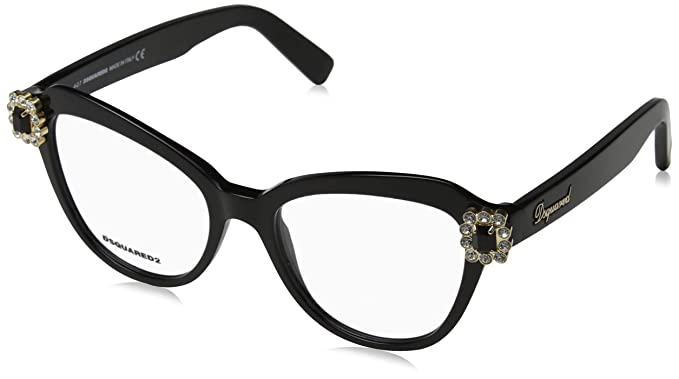 65c0810f4e2508 Image Unavailable. Image not available for. Colour  Dsquared Women s D  Squared DQ5212 001-53-18-140 Optical Frames ...