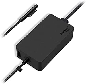 Surface Charger 44W, BatPower Charger Surface Pro 6/5/4/3/7/X, 44W Charger Surface Laptop 3/2/1, Surface Charger for Microsoft Surface Power Supply Ac Adapter 1800 with 6.6ft Surface Power Cord