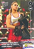 #4: Ronda Rousey 2018 Topps Now WWE #30 ROOKIE Card in MINT Condition! Ronda Rousey & Kurt Angle Defeats Triple H & Stephanie McMahon in Wrestlemania 34! Shipped in Ultra Pro Top Loader to Protect it!