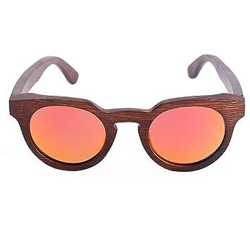 Gafas De Sol Polarizadas De Madera Gafas De Bambú De Ojo De Gato De Moda Gafas