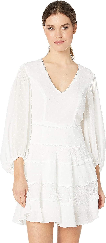 Ivory Bardot Womens Mae Lace Dress