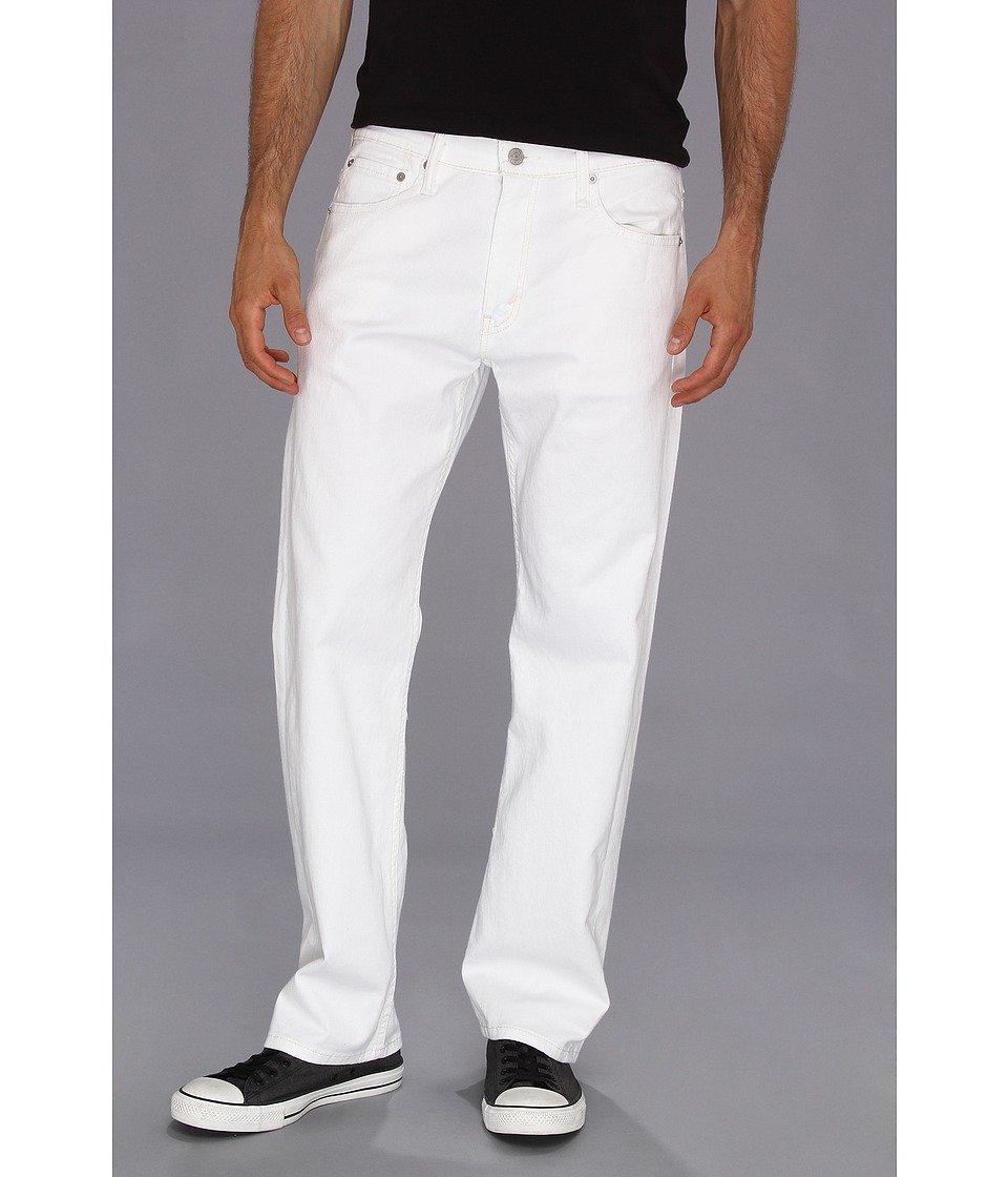 Levi's Men's 569 Loose Straight Leg Twill Pant, White, 38x34 by Levi's