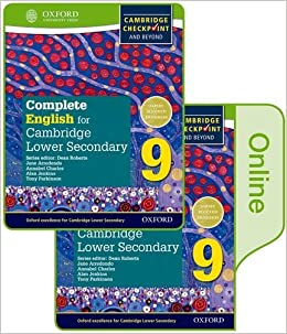 Complete English for Cambridge Lower Secondary Print and Online