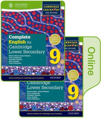 Complete English for Cambridge Lower Secondary Print and Online Student Book 9 (CIE Checkpoint)