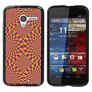 Be Good Phone Accessory // Dura Cáscara cubierta Protectora Caso Carcasa Funda de Protección para Motorola Moto X 1 1st GEN I XT1058 XT1053 XT1052 XT1056 XT1060 XT1055 // Hypnotic W