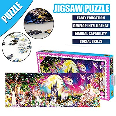 Allywit 1000 Piece Jigsaw Puzzles, High Difficulty Puzzle, Decompression Fun Toy - Parent Child Cooperative Games - Floor Puzzle Educational Toys Creative Learning Games: Arts, Crafts & Sewing