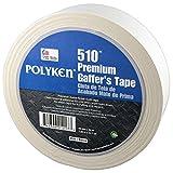 POLYKEN 510 Gaffers Tape, Full Case, 48mm x 50M, White, 24 Rolls