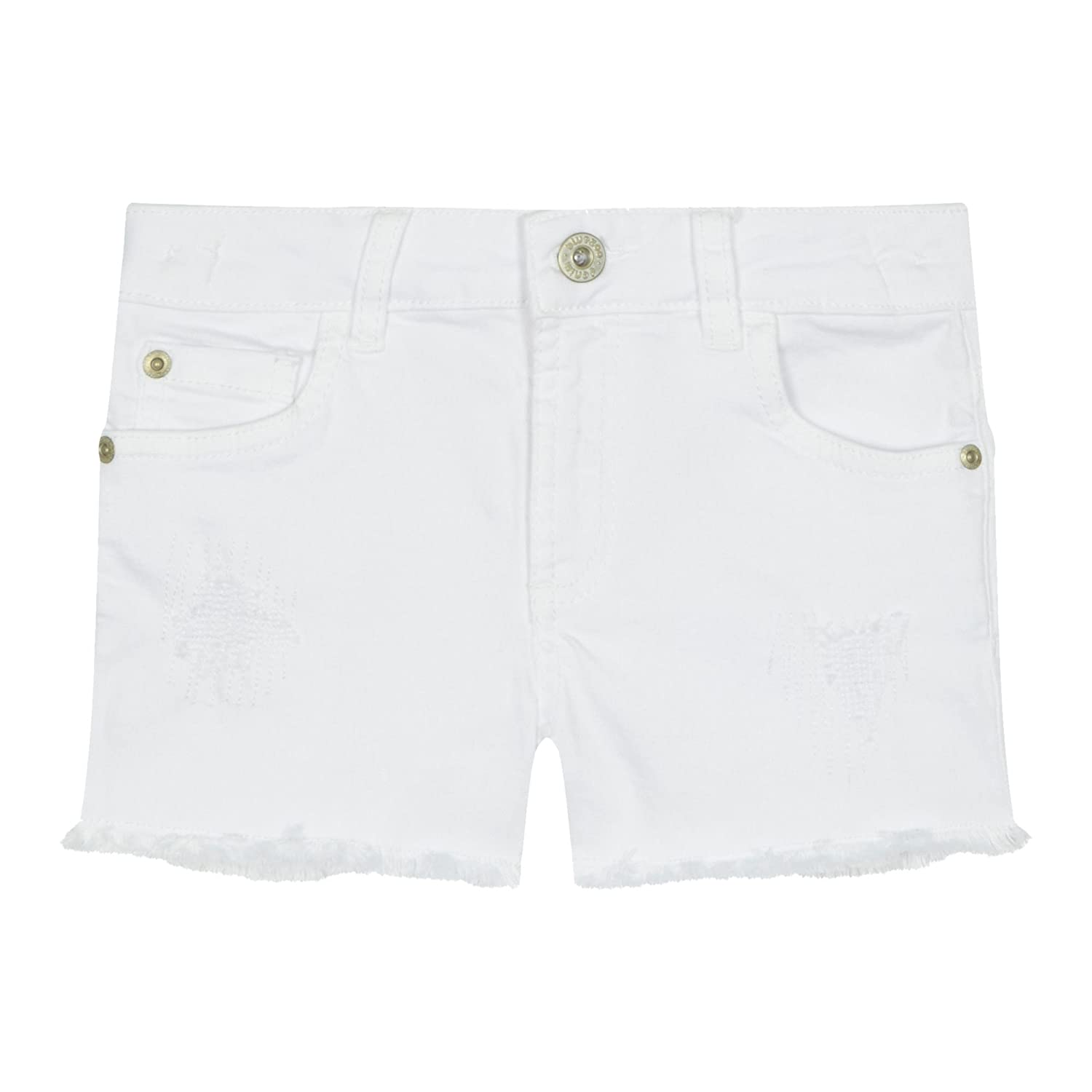 bluezoo Kids 'Girls' White Denim Shorts