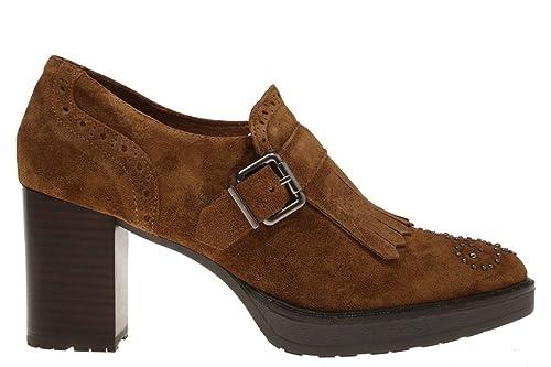 Alpe, ZAPATO FLECOS CUERO, 341211 01, Tacon medio, Cuero: Amazon.es: Zapatos y complementos