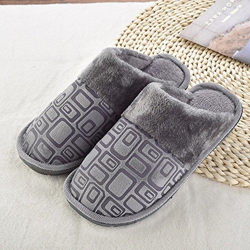 de Amateurs C 40 Automne Hiver Mode 41 Pantoufles Couple Hiver Bo Et Pantoufles Pantoufles te TM Maison Coton Pantoufles Maison Coton 4WntHIwUx