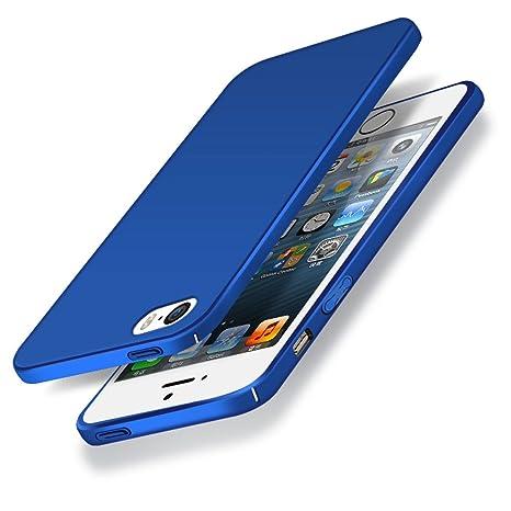 custodia iphone se blu