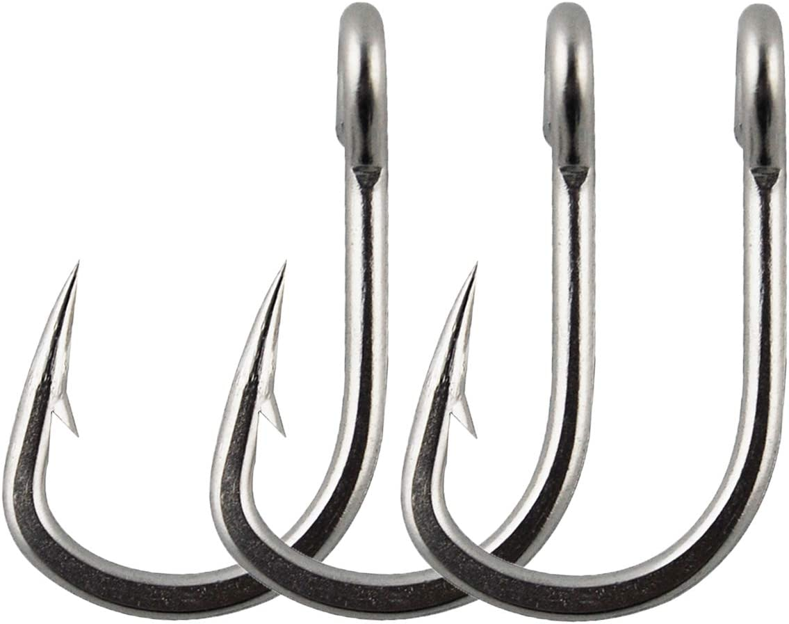 30PCS High Carbon Steel Barbed Hooks Fishing Hooks Barbs Fishhooks For Sea Fish