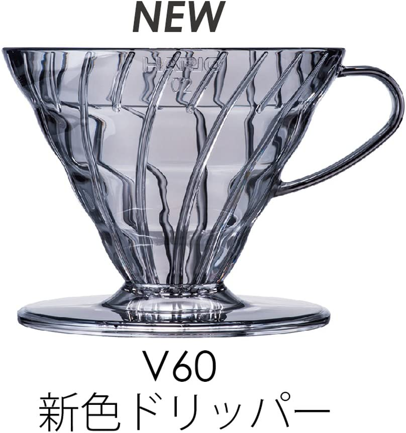 HARIO V60 coffee king coffee maker 2-5 cups of black EVCM-5TB by Hario
