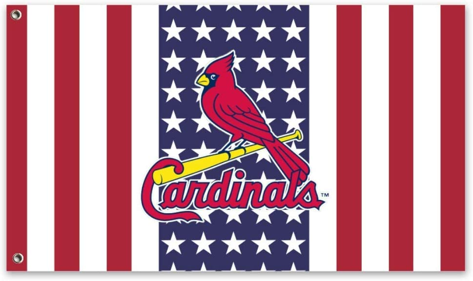 Stockdale St. Louis Cardinals Garden Flag Outdoor Decor for Homes Courtyard Lawn Patio