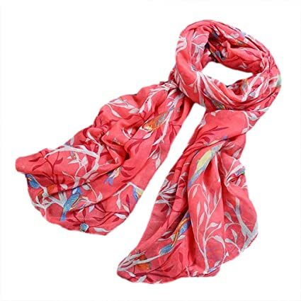 816357555ac Amazon.com : Midress Women's Fashion Long Soft Wrap Scarf Shawl ...