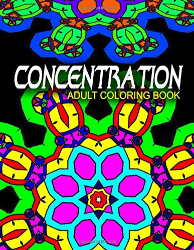Read Online CONCENTRATION ADULT COLORING BOOKS - Vol.10: adult coloring books best sellers stress relief (Volume 10) pdf epub