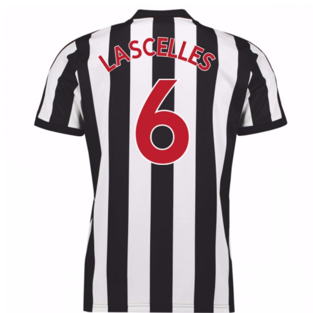 2017-18 Newcastle Home Football Soccer T-Shirt Trikot (Jamaal Lascelles 6)