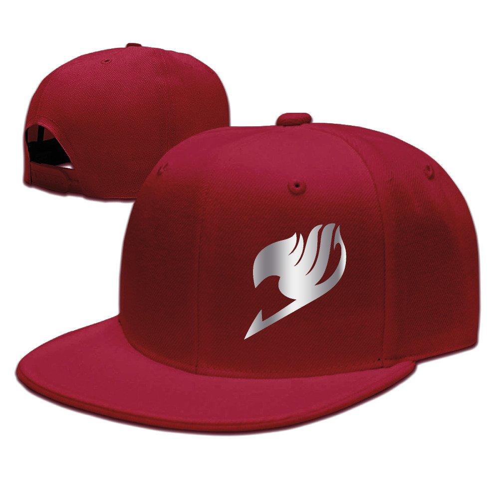 Fairy Tail Platinum Logo Snapback Baseball Cap Black AWTHL