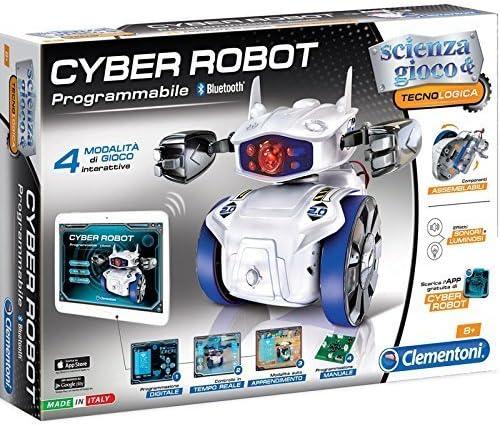 61777 CLEMENTONI Scienza Museo ecobot Aspirapolvere Robot STELO assieme giocattolo