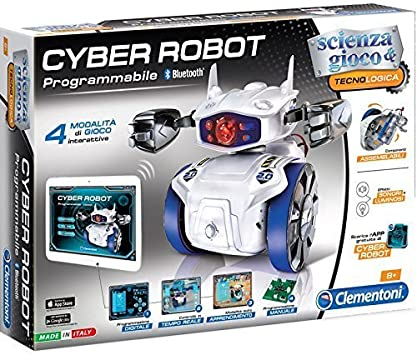 Clementoni - Cyber Robot (13941) - versión Italiana