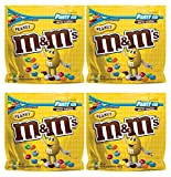 M&M'S Peanut Chocolate Candy Party Size, 4 Pack (42oz Peanut)