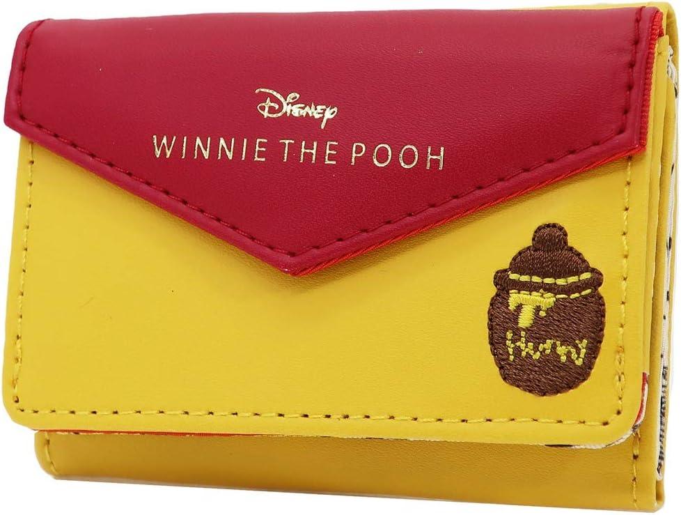 Winnie the Pooh tri-fold compact wallet //disney character mini wallet purse