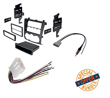 61I3C6zkJKL._SX463_ amazon com nissan altima 2007 2011 double din radio stereo 2007 nissan altima engine wiring harness at aneh.co
