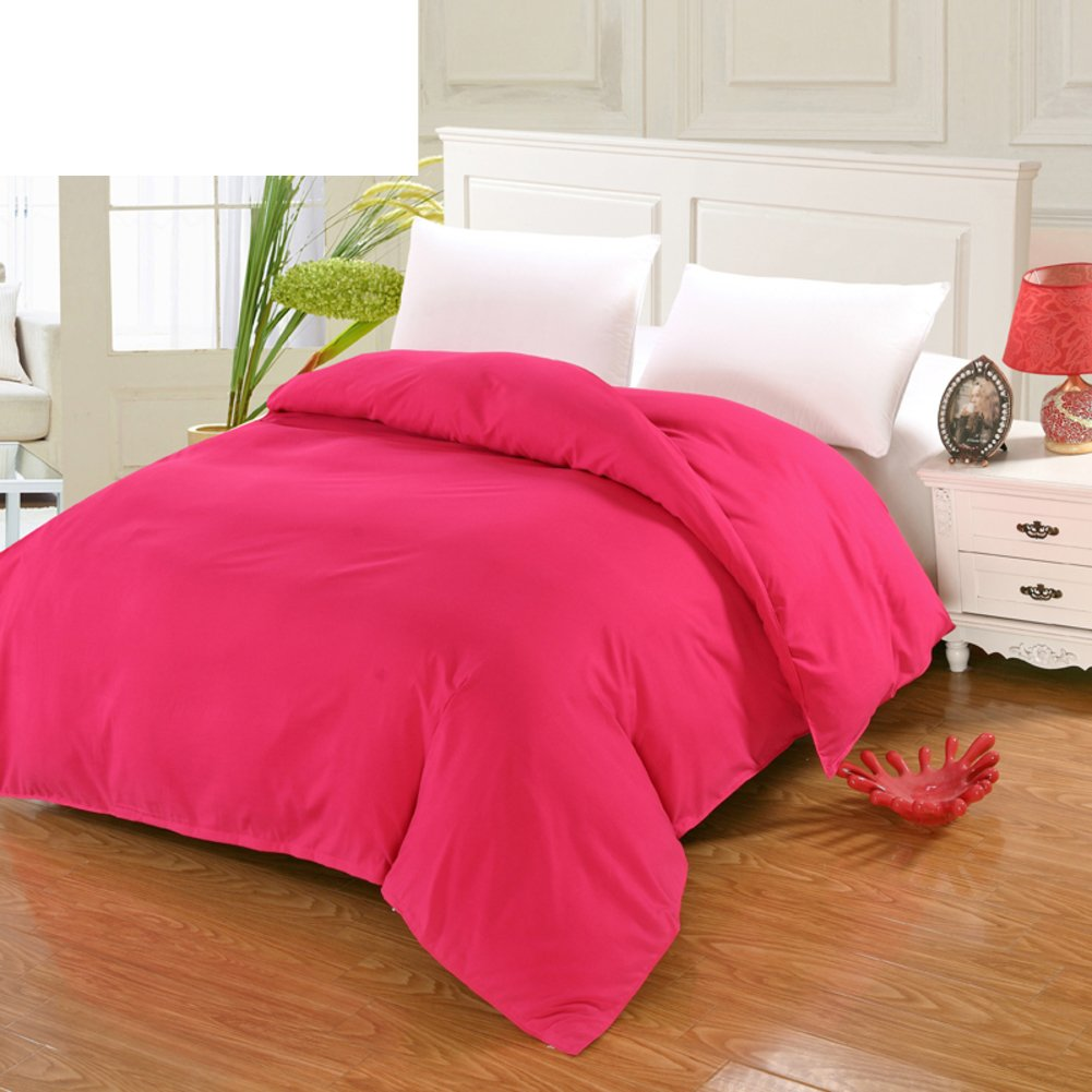 Solid Color Duvet Cover/single Quilt Cover/Dormitory Quilt F  150200cm(59x79inch
