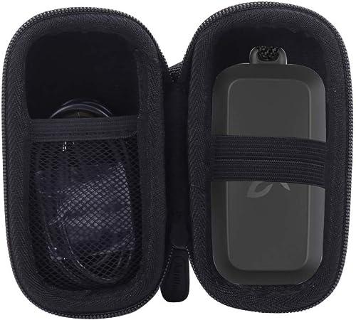 Aenllosi Hard Carrying Case for Jaybird Vista True Wireless Bluetooth Sport Earbuds Black