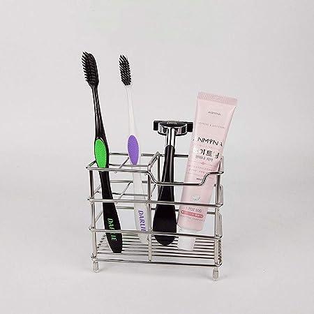 WMM small shelf Plaid toothbrush holder Stainless Steel