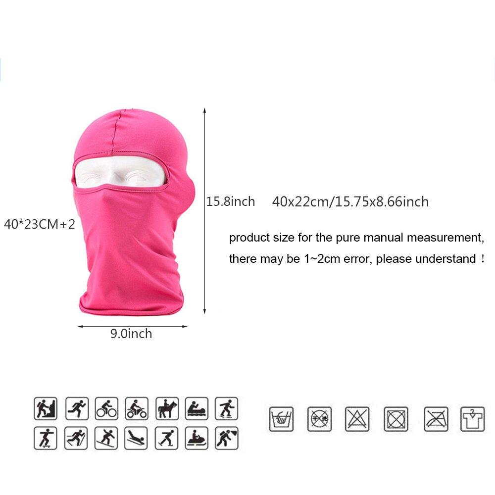 64da346f812 Ezyoutdoor Winter Thermal FLEECE Swat Ski Neck Hoods Full Face Mask ...