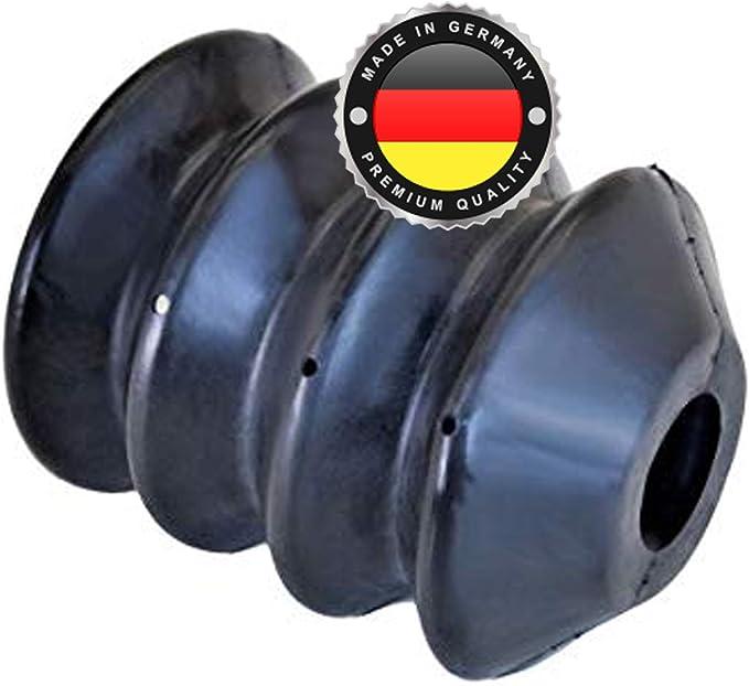 Ws System 2x Universal Faltenbalg Aus Gummi 2 Stk Flexible Dehnbare Achsmanschette Made In Germany Aus Hochwertigem Pvc Schelle In Größe L 45mm 115mm Ø 28mm 38mm Auto