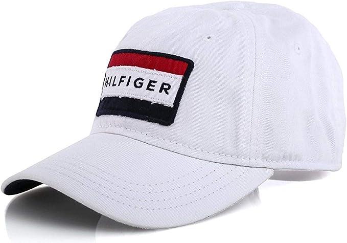 Tommy Hilfiger - Gorra de béisbol, Talla única, Color Blanco ...