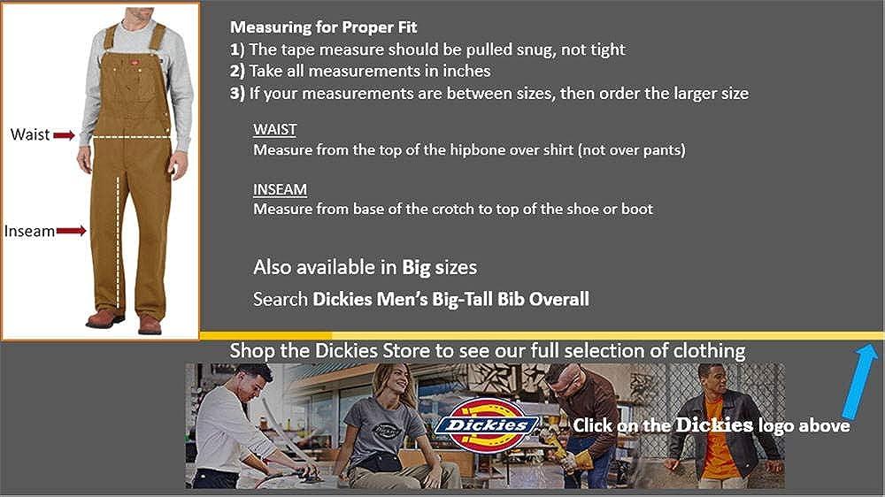 Marr/ón Brown Duck Dickies Bib Overall Peto Para Hombre 32W // 32L