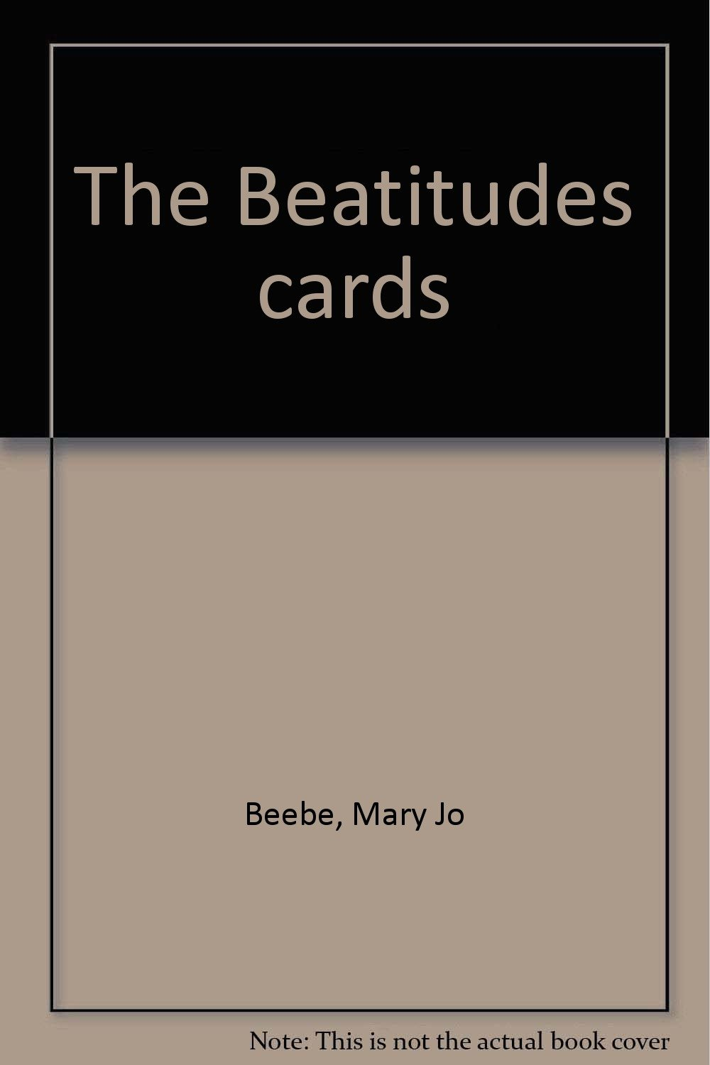 Download The Beatitudes cards PDF