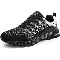 SOLLOMENSI Zapatillas de Deporte Hombres Running Zapatos