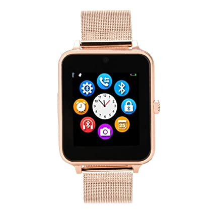 SUKEQ Z60 Reloj Inteligente, Bluetooth Smartwatch Manos ...