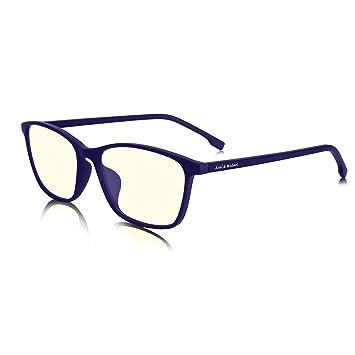 a51e7d2946 M&A Gafas de Ordenador Gafas Lectura para Protección contra Luz Azul, Gafas  para Bloquear el