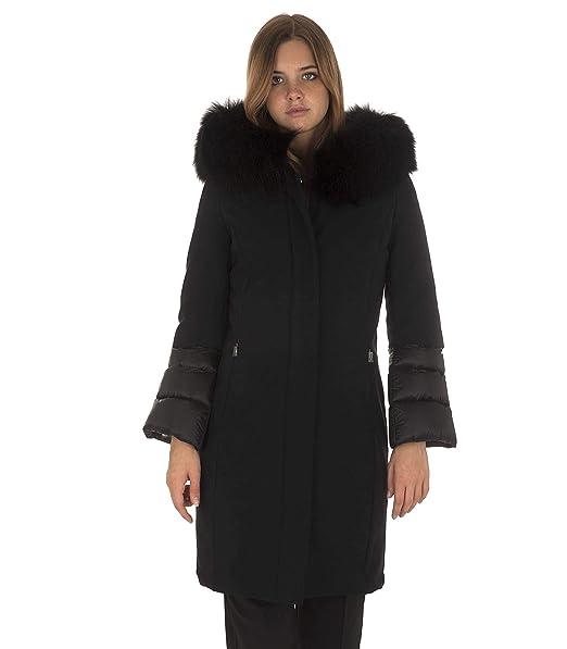 RRD Piumino Winter Hybrid Zarina Lady Fur T 46 Donna Nero