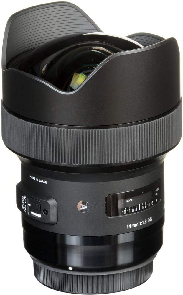 Sigma Art 1 8 14 Mm Dg Hsm L Mount Objektiv Kamera