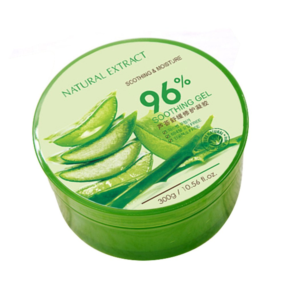 Natural Extract Gel apaisant et hydratant à base d'Aloe 300g soothing gel Molie