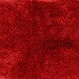 Garland Rug Finest Luxury Ultra Plush Washable Nylon Rug, 22-Inch by 60-Inch, Chili Pepper Red