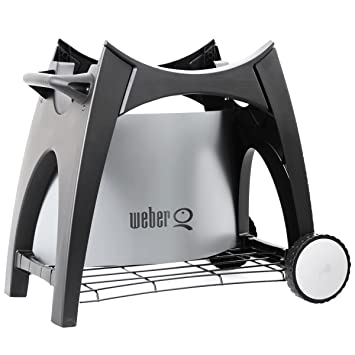 weber 8460 rollwagen premium f r q200220 kleinster mobiler gasgrill. Black Bedroom Furniture Sets. Home Design Ideas