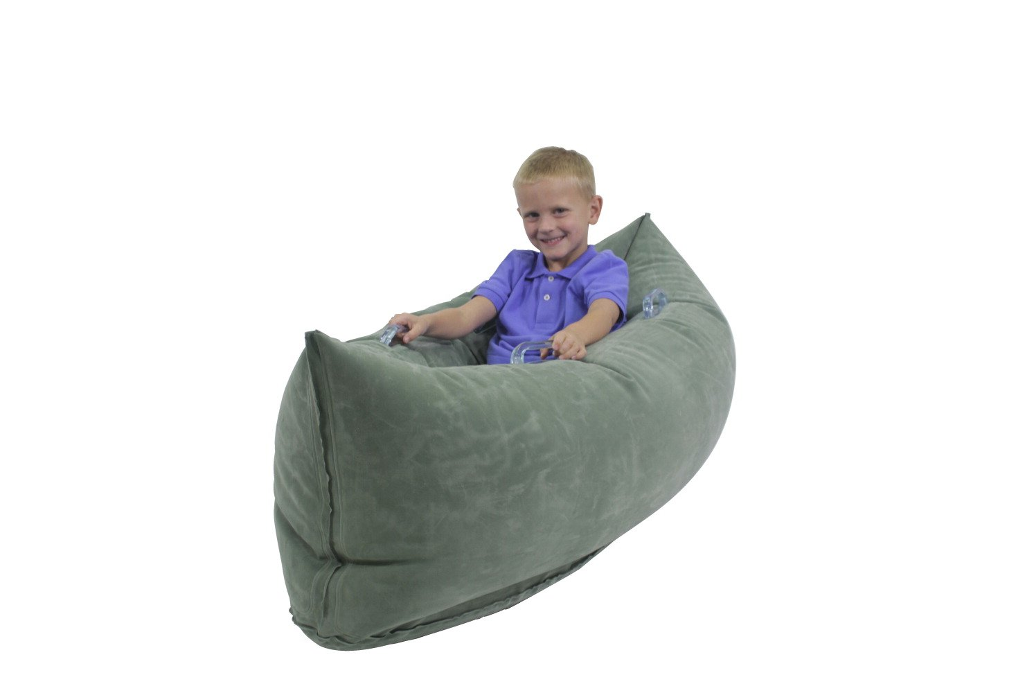 Abilitations Inflatable PeaPod Junior, 48 Inches, Vinyl, Green