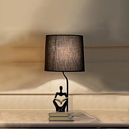 Lámpara de mesa de estilo nórdico, decoraciones caseras ...