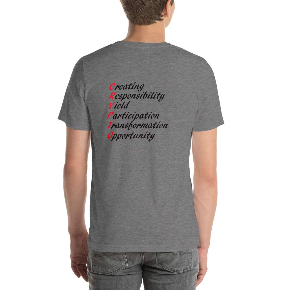 BigskyCrypto Crypto Short-Sleeve Unisex T-Shirt