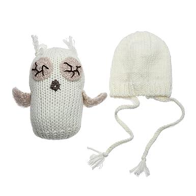 Domybest Baby Weiß Neugeborenen Häkeln Stricken Puppen Und Hut