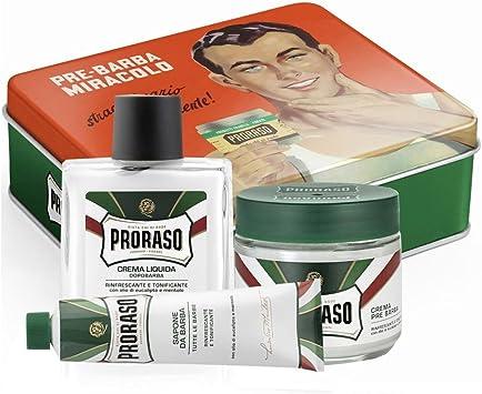 Proraso Kit Completo de Afeitado - 1 Pack: Amazon.es: Salud y cuidado personal